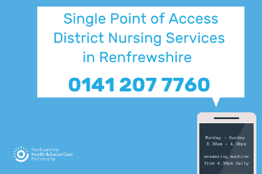 District Nursing - Single Point of Access
